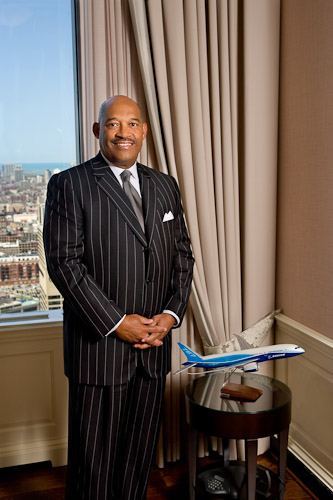 Boeing Executive Portraits for Who's Who in Black Chicago Publication